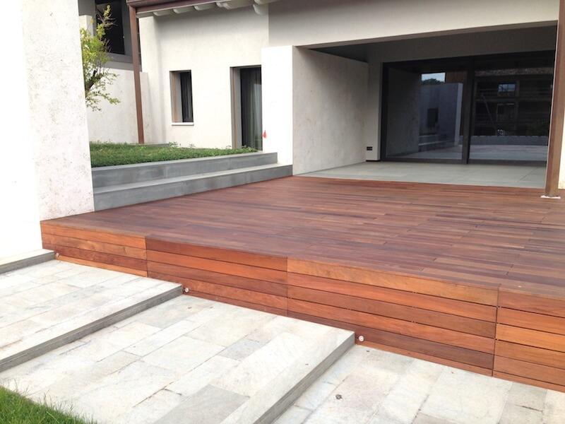 Outdoor flooring listone ipe parquetlife vendita for Parquet ipe exterieur